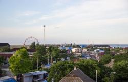 Вид на Кирилловку с балкона