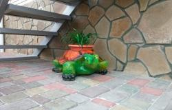 Вазон-черепаха