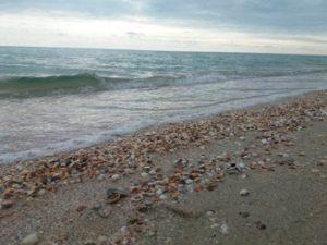 Море в межсезонье Кирилловка